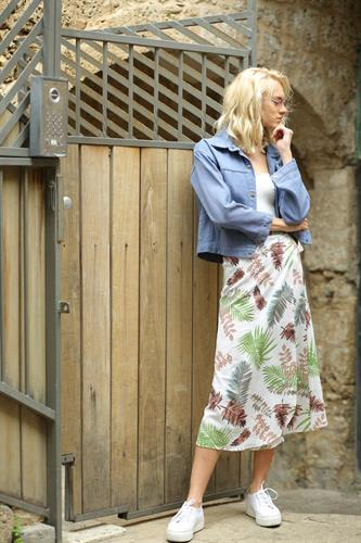 חצאית מעטפת סאמר