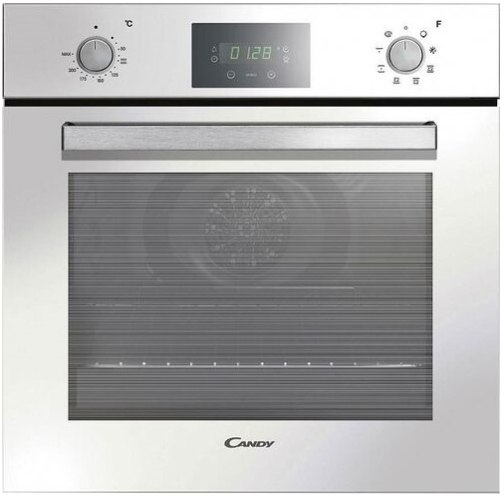 תנור אפייה בנוי דיגיטלי קנדי CANDY FCP605WXLE-ISR זכוכית לבן