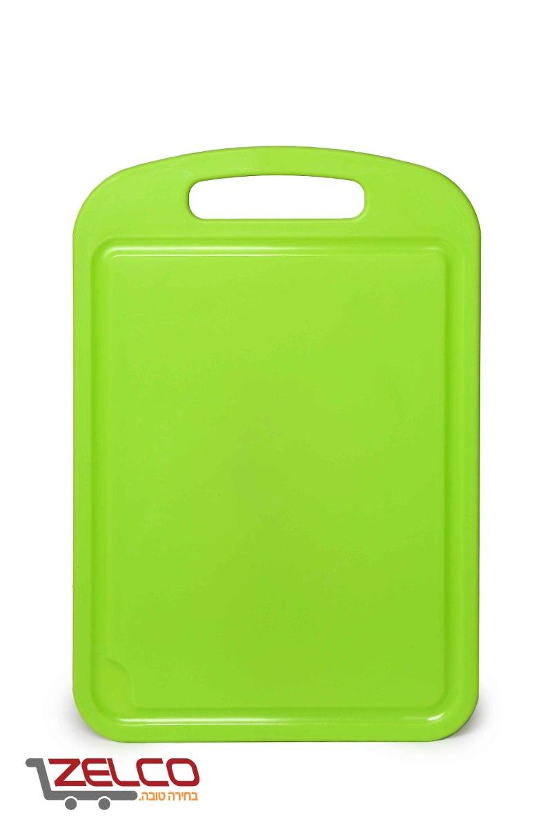 קרש חיתוך קטן פלסטיק 32X23 אדום/כחול/לבן/ירוק