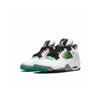 Nike Air Jordan 4 Retro Lucid Green Rasta