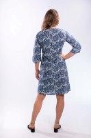 שמלת גלביה קצרה עם שרוול מרפק
