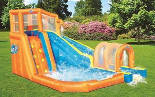 מתקן קפיצה מתנפח רטוב עם מים Bestway 53303 - פארק מים  HURRICANE-קפיץ קפוץ