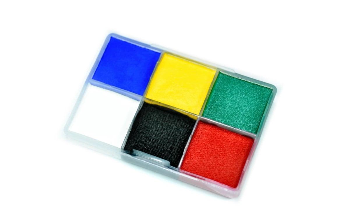צבע מים 6 גוונים בסט (90 גרם)
