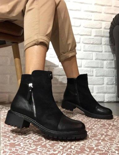 מגפיים רוכסן DAMEROSE