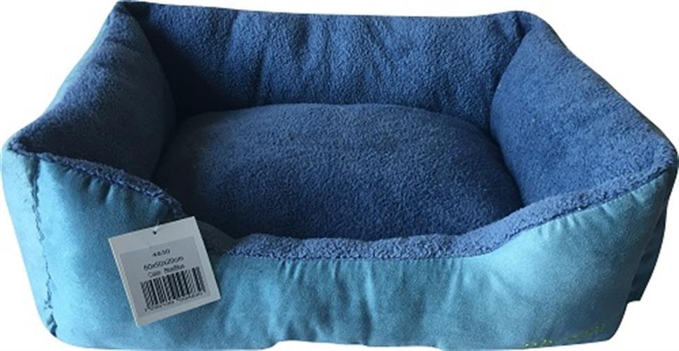 מיטה מלבנית כחול 100