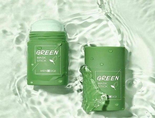 מסכת תה ירוק לעור הפנים