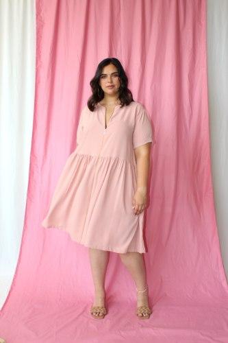שמלת היילי PINK