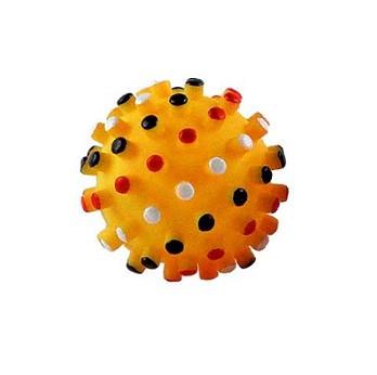 כדור גומי מצפצף עם בליטות