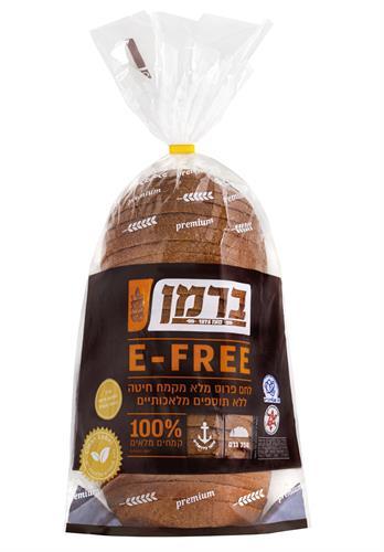 לחם קמח מלא E-FREE