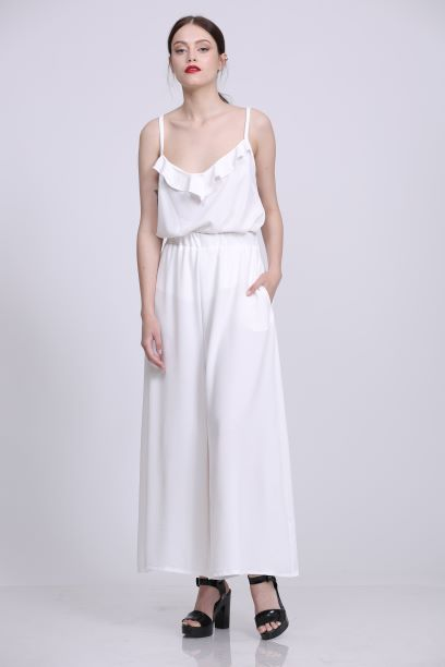 מכנס מרי לבן