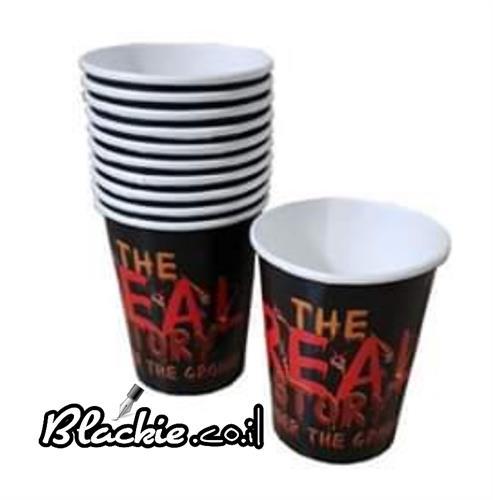 כוסות חד פעמי הדפס גראפי
