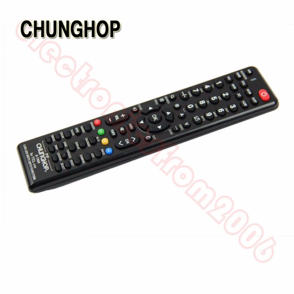 שלט אוניברסלי לטלויזיות Tcl-LCD LED HDTV