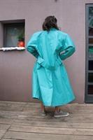 מעיל טרנץ' בייג' ארוך מאד מיוחד מידה L/XL