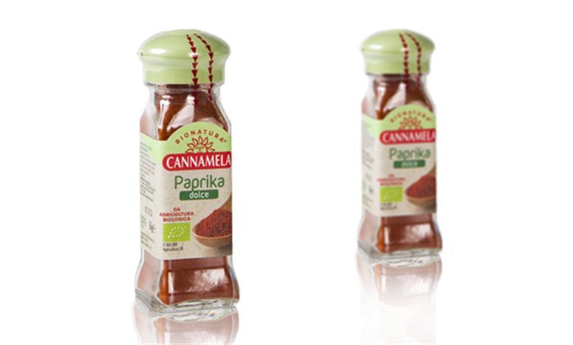 פפריקה מתוקה אורגנית - מארז 50 גרם