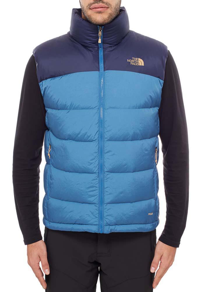 מעיל ללא שרוולים  נורת פייס גברים מדגם  The North Face Men's Nupste blue 2
