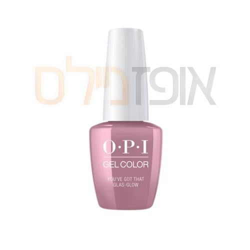opi ג'ל צבע    YOU'VE GOT THAT GLAS-GLOW