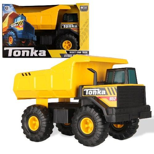 טונקה-משאית מתכת משא קלאסית ענקית
