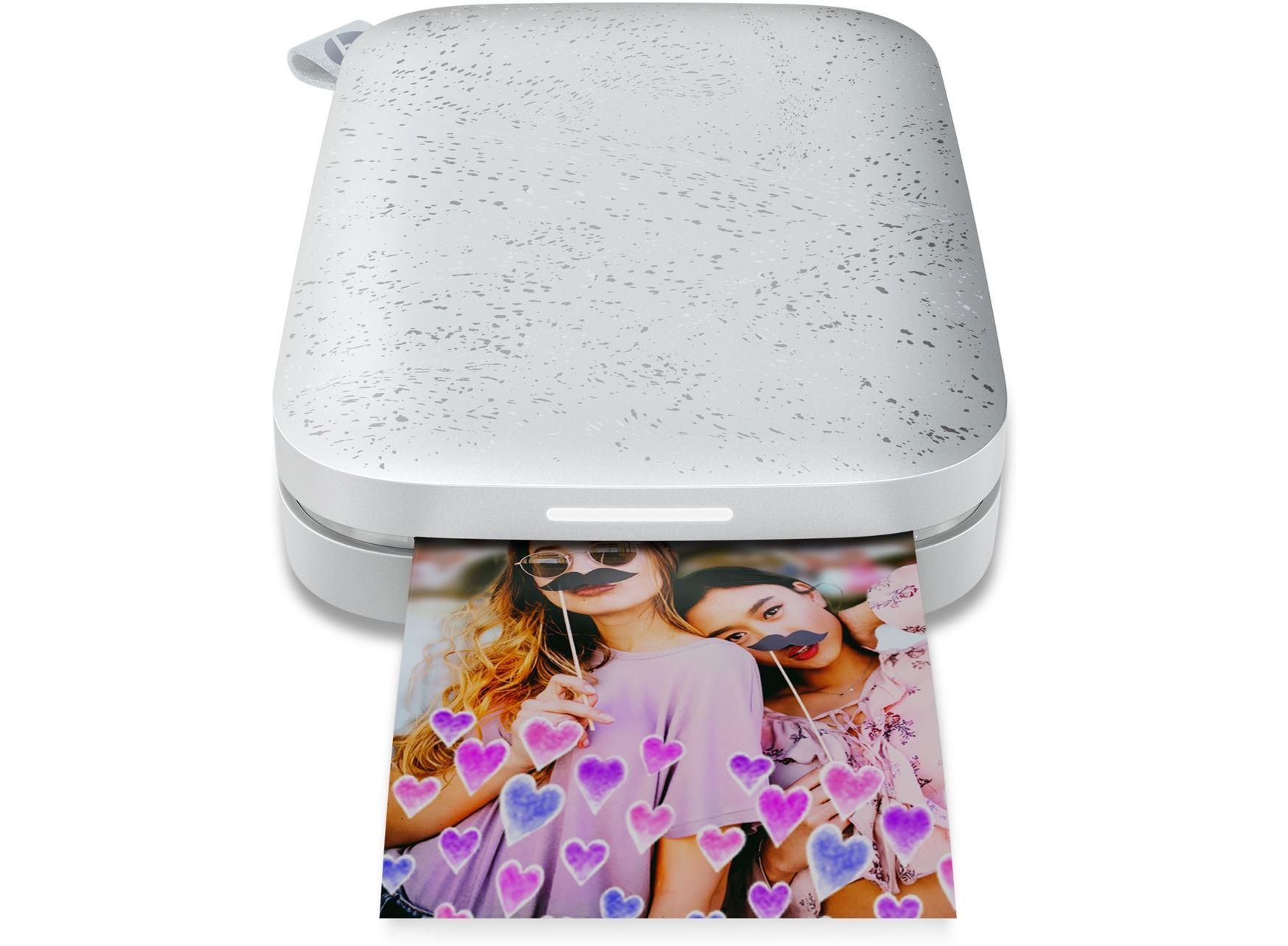 HP Sprocket Photo Printer Model 200-WHITE