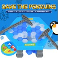 שולחן הקרח - משחק פינגווין