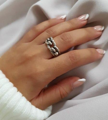 טבעת גורמט כסף