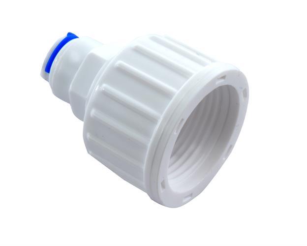 מחבר בין ברז מים 3/4 לצינור 6 ממ