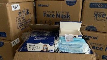 """ארגז מסכות כירוגיות כחולות (סה""""כ 2000 יח') כולל משלוח חינם!"""