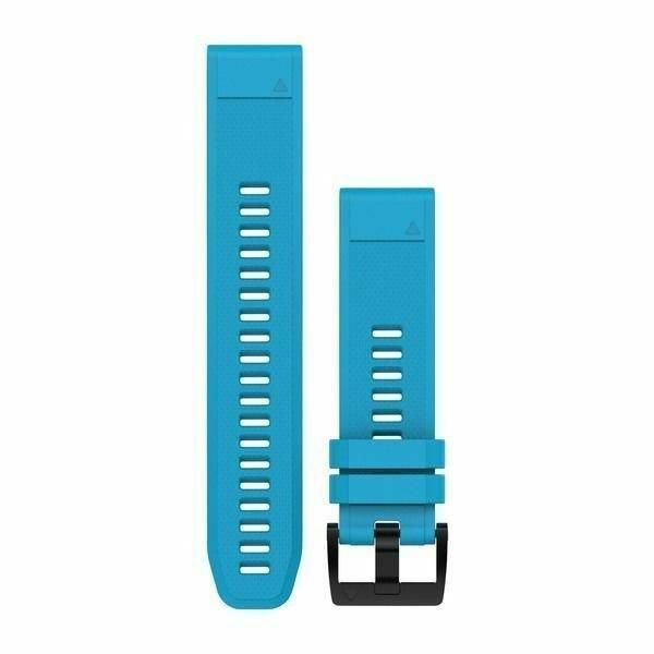 רצועה מקורית לשעון גרמין Garmin Fenix 5 QuickFit 22 Watch Bands תכלת