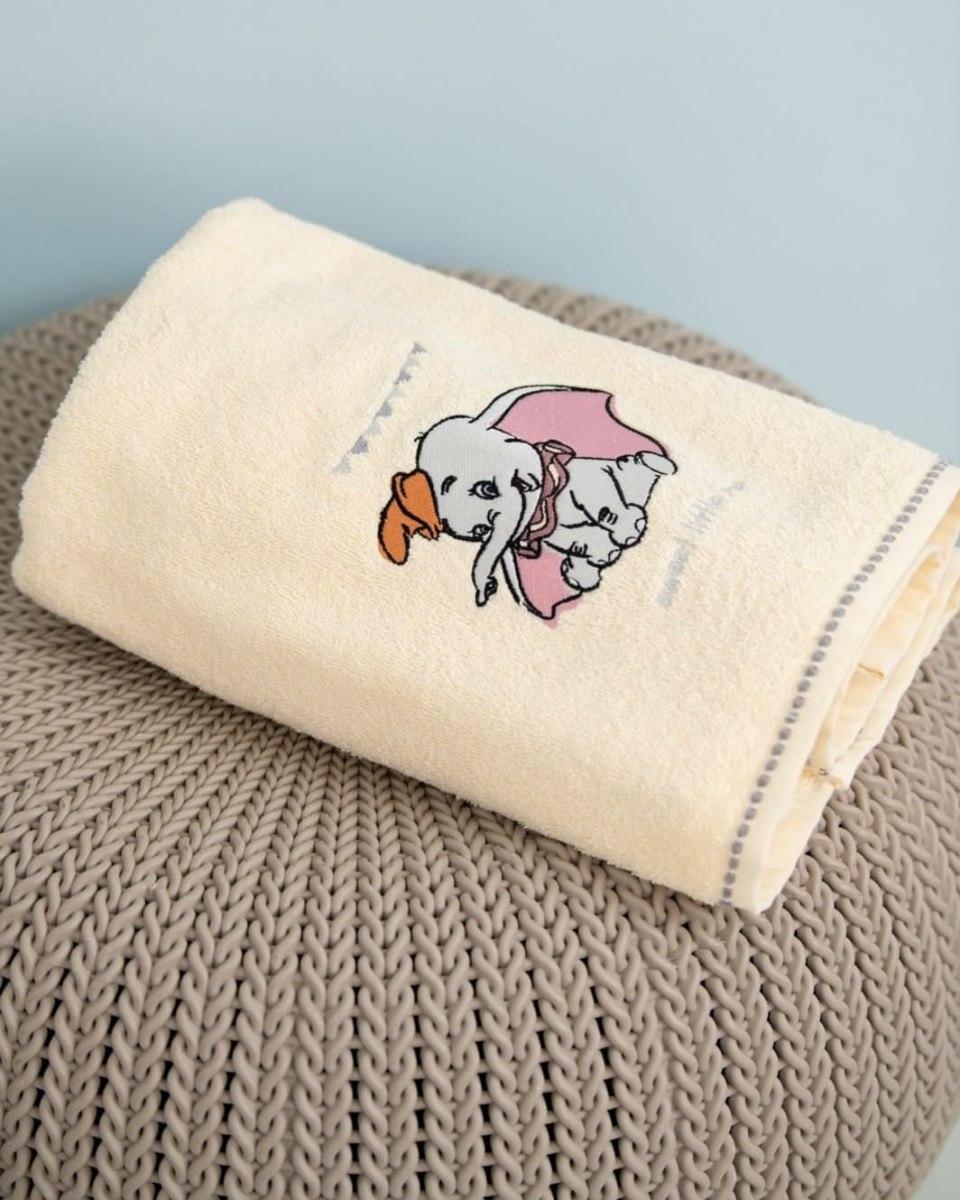 מגבת רחצה לילדים דגם דמבו מבית ורדינון