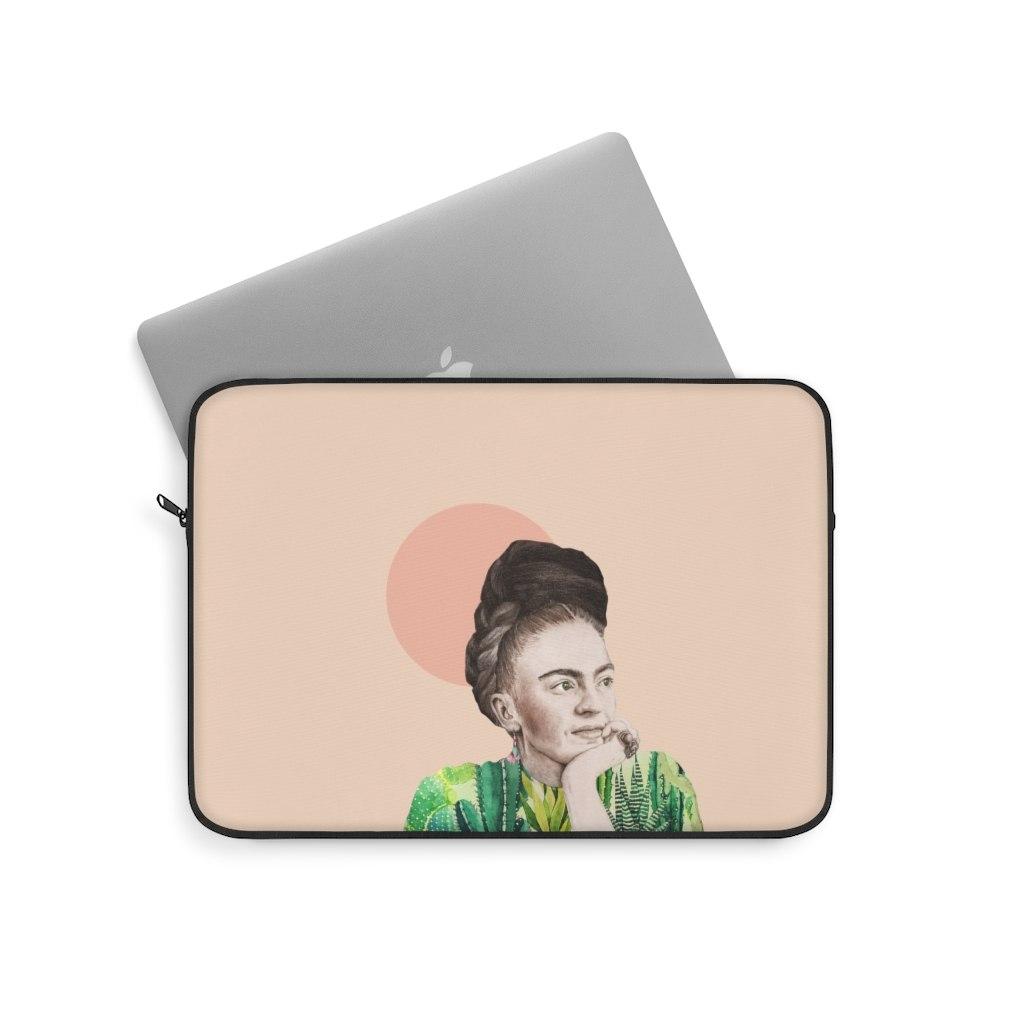 תיק למחשב נייד - פרידה קאלו טרופית