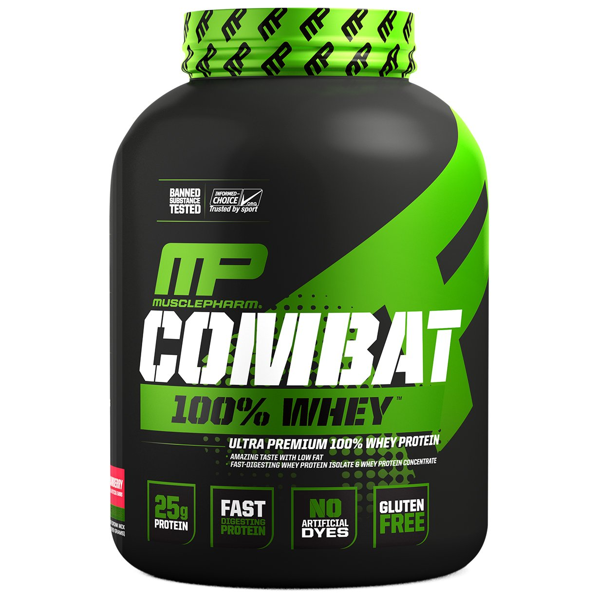 100% אבקת חלבון קומבט - Combat 100% Whey