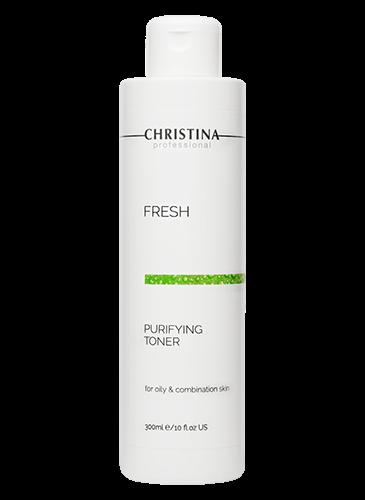 Christina Fresh Purifying Toner for Oily and Combined Skin  -כריסטינה מי פנים לעור שמן מעורב