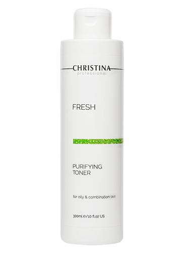 Christina Fresh Purifying Toner for Oily and Combined Skin  -כריסטינה מי פנים לעור שמן מעורב