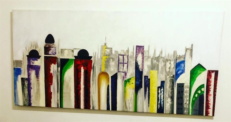 בניינים בצבעים