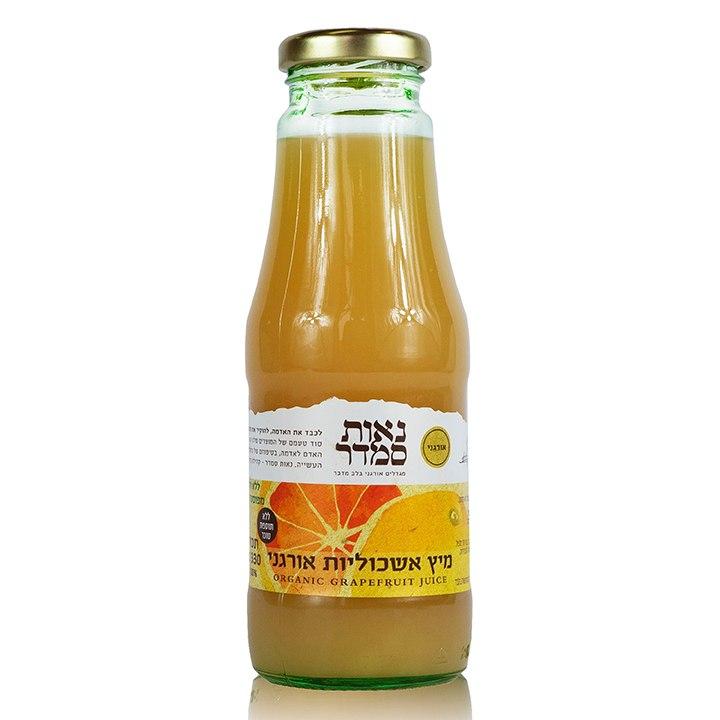 מיץ אשכוליות אורגני - 1 ליטר