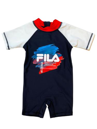 אוברול ים תינוקות אנטי סאן FILA כחול 6-12M