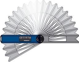 מד זווית דיגיטלי מקצועי מדויק עם פלס בועה אלומיניום
