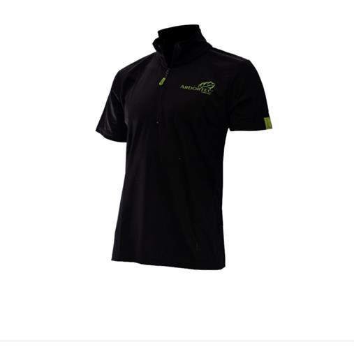 חולצת דרייפיט ARBORTEC קצר צבע שחור מידה S