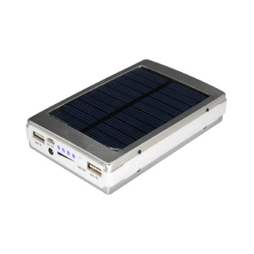 סוללת גיבוי סולרית עם תאורת חירום