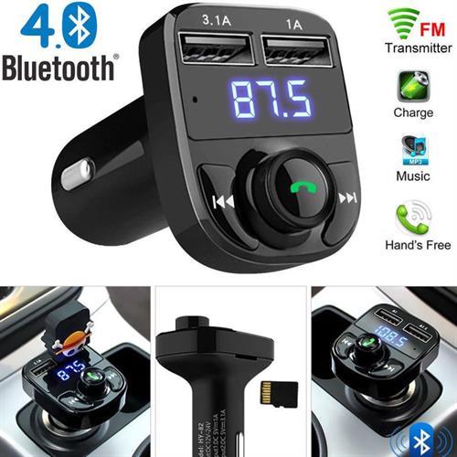 Wireless Bluetooth 4.0+EDR Car MP3 Player Kit Hands-Free Dual USB FM Transmitter