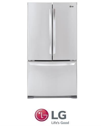 מקרר 3 דלתות 580 ליטר LG דגם GR-B253MAJ