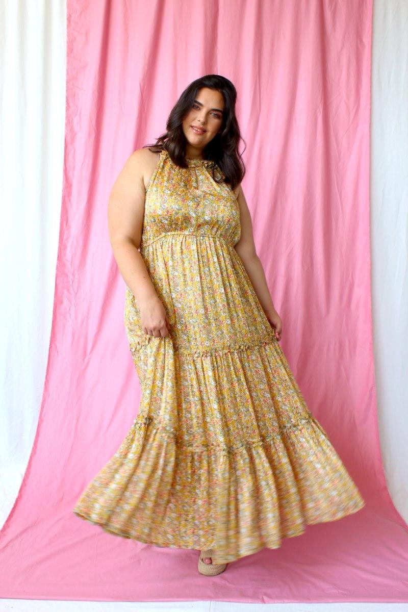 שמלת לילי פרחונית