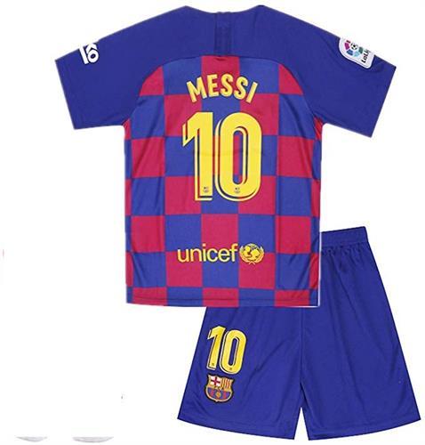 חליפות כדורגל ילדים| מסי ברצלונה
