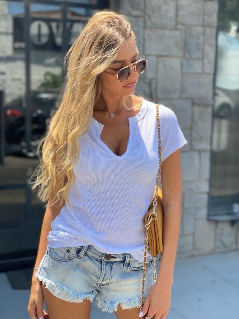 חולצת סיאטל לבן THOMAS