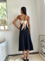 חצאית מעטפת קוסטה ריקה שחורה