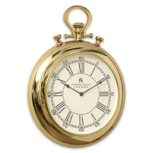 שעון ביג בן זהב נירוסטה  מידות : 70×70