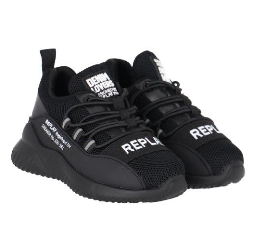 נעל ספורט שחורה REPLAY (21-39)