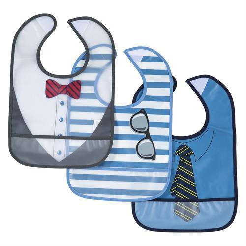 סט שלישיית סינרים מעוצבים כחול