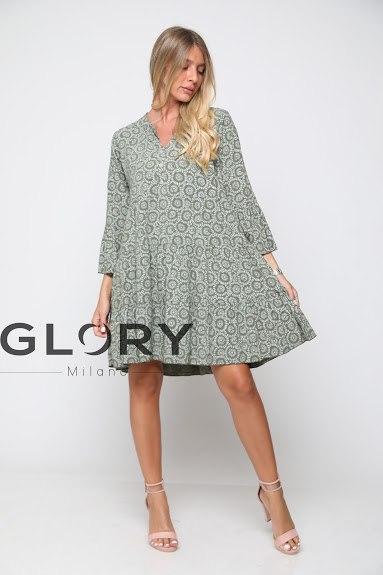 שמלת ויסקוזה שרוול GLORY
