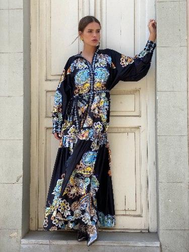 שמלת מקסי  DIAMOND