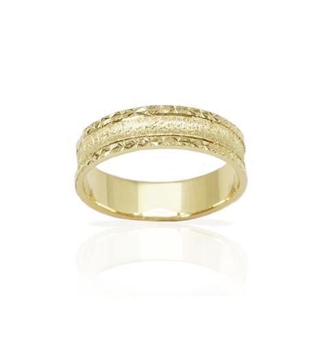 טבעת נישואין מיוחדת  - דגם M211
